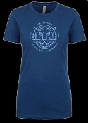 SONG CLUB WOMEN'S COOL BLUE TEE