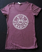 BEAR CIRCLE WOMEN'S LIGHT PURPLE TEE