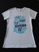 GOOD TIMES WOMEN'S WHITE TEE