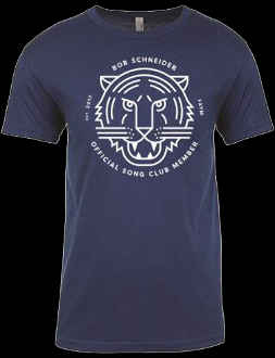 SONG CLUB MEN'S COOL BLUE TEE