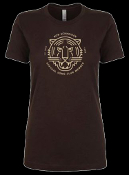 SONG CLUB WOMEN'S BROWN TEE