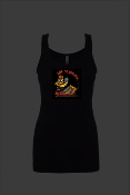 BLOOD & BONES WOMEN'S BLACK TANK